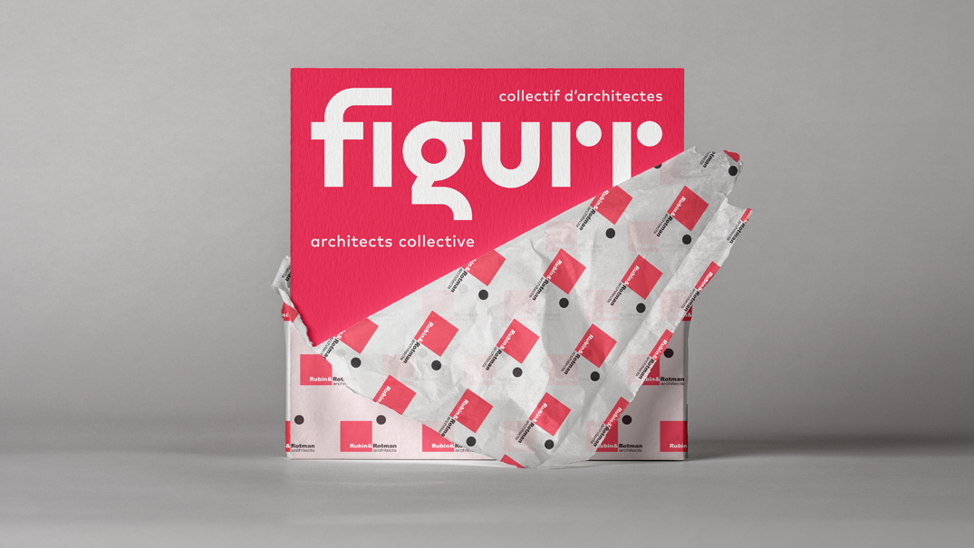 The firm of Rubin & Rotman Architects is now known as Figurr Architects Collective.